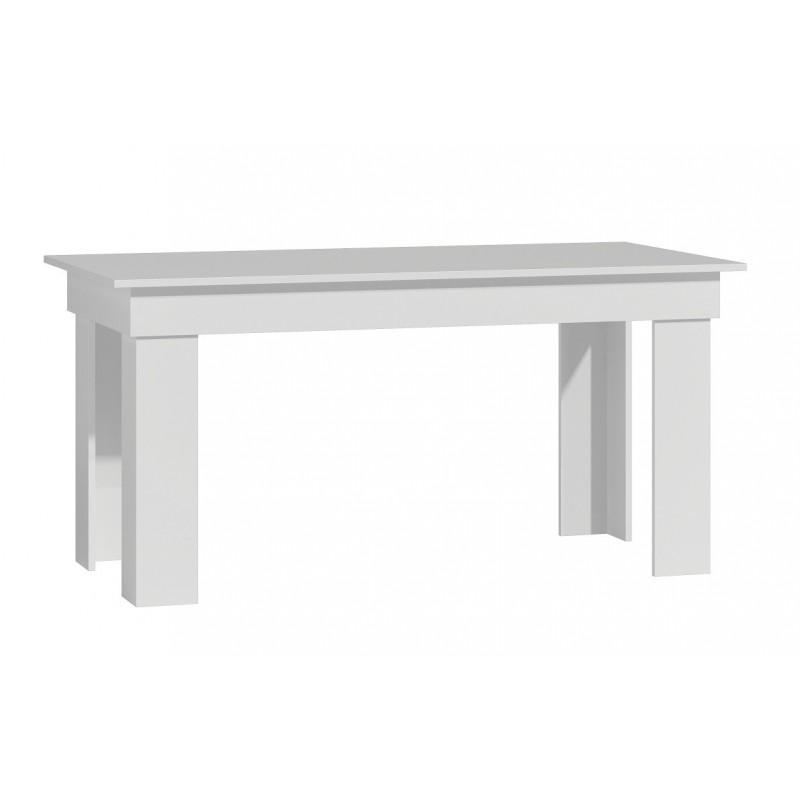 Duży stół jadalnia salon 160x80x75 * BIAŁY