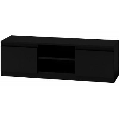 Szafka stolik RTV  120CM czarny mat